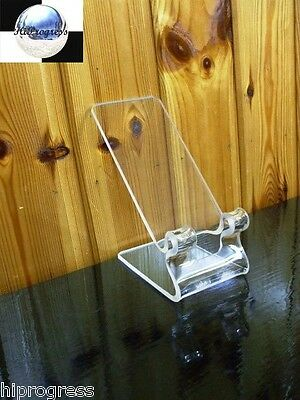 Smartphone Clear Holder Stand Mount Display Easel for Apple iPhone Universal