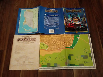 AD&D 2nd EDITION DUNGEONS&DRAGONS TIEFWASSER UND DER NORDEN FORGOTTEN REALMS RAR