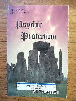 Psychic Protection by Ted Andrews Dragonhawk Series Occult Magick Paranormal