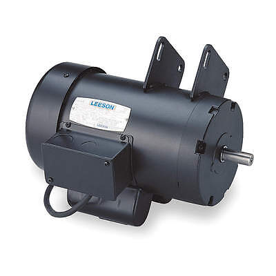 LEESON Saw Motor 120997.00 2 HP, 3450 RPM, 1/Ph 115/230V TEFC  Woodworking *NEW*