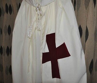 Knights Templar Mantle and Tunic set