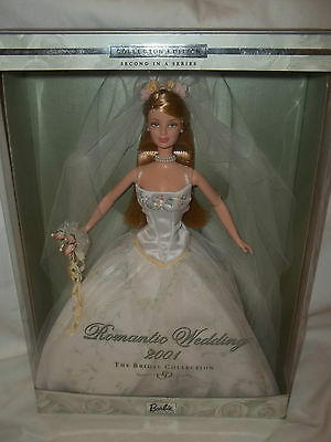 2001 Romantic Wedding Barbie. 2nd In A Series. The Bridal Collection. #29438