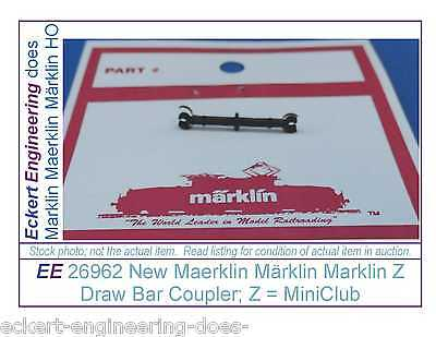 EE 26962 NEW Maerklin Märklin Marklin Z Draw Bar Current Condut Coupler MiniClub