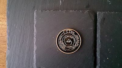 Rare Mining On My Own, Gold Plated, Virtual Bitcoin 15-09-2013, £6.95 Inc P&p Uk