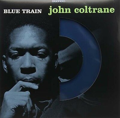 "JOHN COLTRANE Blue Train 12"" Coloured LP Vinyl NEW"