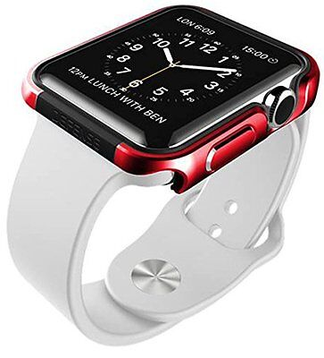 RACE RED ALUMINUM Cover Protector Case Bumper Skin For iWatch 42MM APPLE WATCH 1