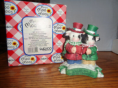 1997 Mary's Moo Moos - We Wish You A Mooey Christmas - Musical Caroler - #274399