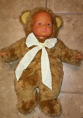 "Anne Geddes 15"" Stuffed Plush Teddy Bear Doll Nice"