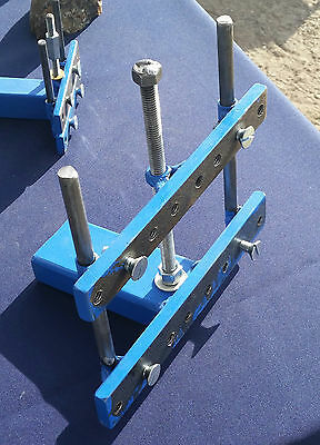 "MEDIUM ROCK CLAMP for 12"" to 24"" slab saw's, Holds end cuts /hard to hold rock's"