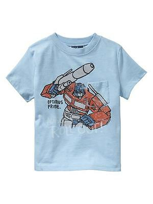 Baby Gap NWT Junk Food Transformers shirt top Optimus Prime 12-18 2T TWINS