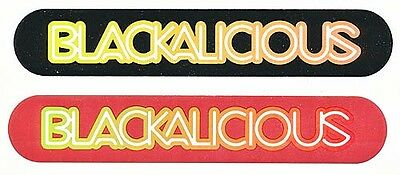 Blackalicious Blazing Arrow RARE promo stickers '01