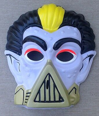 Toxic Crusaders Dr Killemoff HALLOWEEN Plastic MASK 1991 Troma Made In USA
