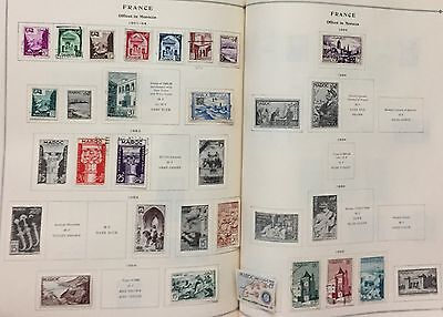France Offices In Morocco 1951/55  Lot Of 20 Stamps Mlh* & Used Spl
