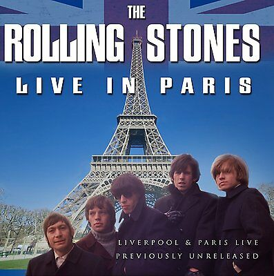 ROLLING STONES Live In Paris LP Vinyl NEW Limited Edition BLUE
