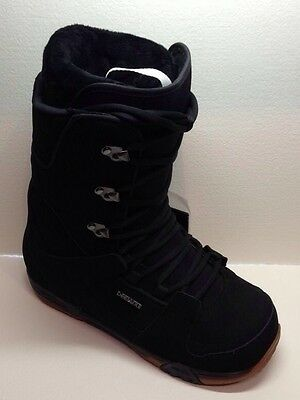 New Deeluxe Independent TF Snowboard Boots Black 9.5 *Last Pair*