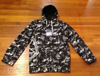 New Sessions Front Row Splat Softshell Snowboarding Jacket M *Last One*