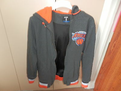New York Knicks Basketball Hoodie Size Small Adult Great Condition
