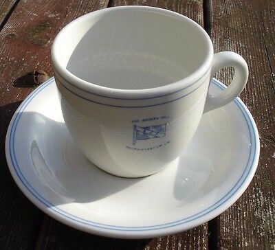 Shipping Line China. Broken Hill Propriety Co. Australia. Cup & Saucer.