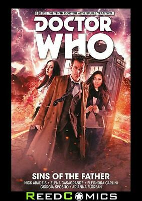 DOCTOR WHO 10th DOCTOR VOLUME 6 SINS OF THE FATHER HARDCOVER New Hardback