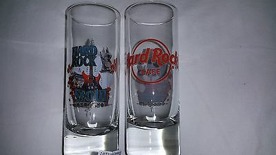 NEW Hard Rock Cafe SEOUL CITY 2016 RED logo shot glass 4""