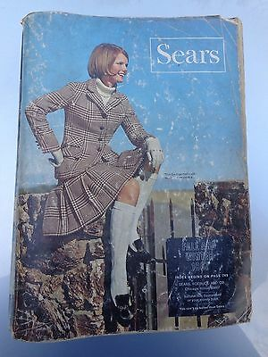 Rare Vintage 1967 Sears Roebuck Fall & Winter Catalog