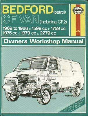 Bedford Cf & Cf2 1.6 1.8 2.0 2.3 Petrol 1969 - 1986 Owners Repair Manual * Vgc *
