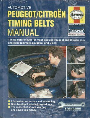 Citroen Ax Bx Xm Zx Saxo Visa & Peugeot 106 205 306 406 Timing Belt Renewal Book