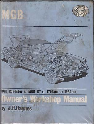 Mg Mgb Mk1 & Mk2 Gt Coupe & Roadster ( 1962 - 1973 ) Owners Workshop Manual
