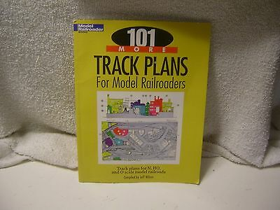 MODEL RAILROADER 101 TRACK PLANS FOR TRAIN LAYOUTS SELF HELP GUIDE For HO N & O