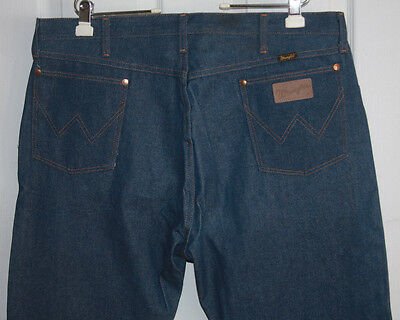 Vintage Wrangler Blue Jeans 42x30 Boot Zipper Made In USA (Closer To 41x31)