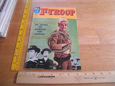 """F-Troop #6 June 1967 Dell Comics Photo Cover """"wrangler Jane"""" Melody Patterson"""