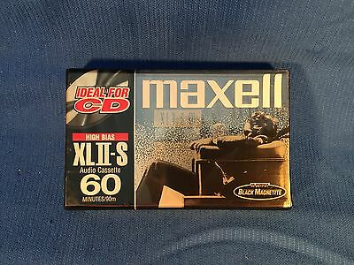 Maxell XLII-S Position IEC Type II High 60 Minutes Blank Audio Cassette Sealed