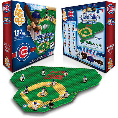 Chicago Cubs Oyo Game Time Field Set 10 Figures Infield & Outfield 157 Pcs