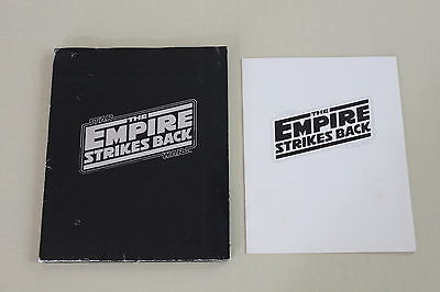 THE EMPIRE STRIKES BACK press kit 12 photo Star Wars Carrie Fisher Harrison Ford