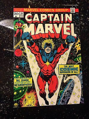 Captain Marvel 29 Early Thanos Appearance Higher Mid Grade