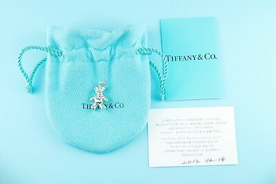Tiffany & Co. Sterling Silver Teddy Bear Charm Pendant Only (#423)