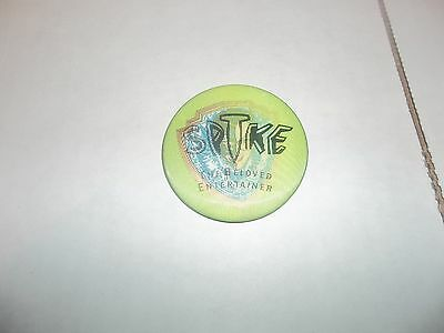 Elvis Costello Spike The Beloved Entertainer (Lenticular) Promo Only Button