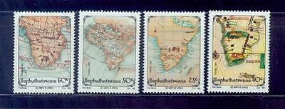 bophuthatswana / 1988 ancient south africa map  /mnh.good condition