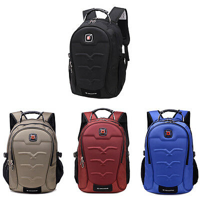 """Fashion Swiss Gear Men Travel Bags Macbook laptop hike red color backpack 15.6/"""""""