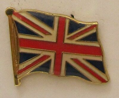 Pin Anstecker Flagge Fahne Großbritannien GB Union Jack Flaggenpin Badge Button