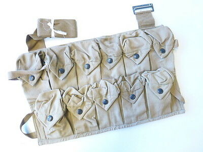 US Army WWI, Handgrenade pouch dated 1918, unused, guaranteed original