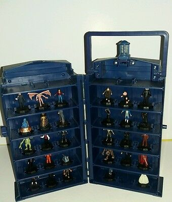 Doctor Who mini figure collection includes 29 figures
