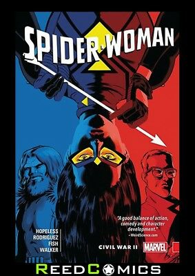 Spider-Woman Volume 2 Shifting Gears Civil War Ii Graphic Novel (2015) #8-12
