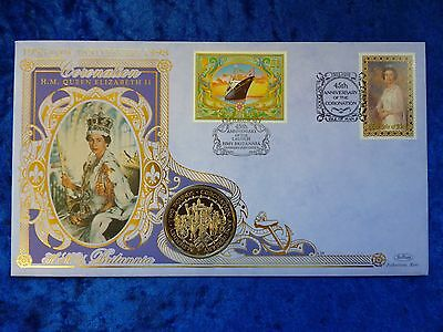 1993 Alderney / Guernsey / Isle of Man £2 Two Pounds PNC Coronation Jubilee