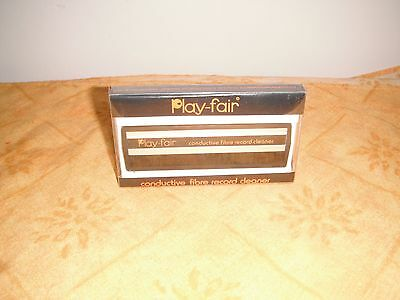 Conductive Fibre Vinyl Record Cleaner By Play Fair!!
