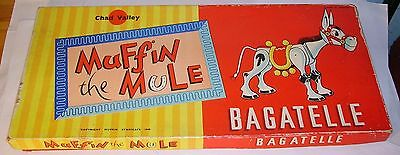 1950's Chad Valley Muffin the Mule Bagatelle Game