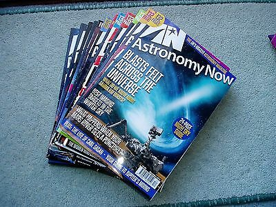 Astronomy Now Magazines January-December 2016
