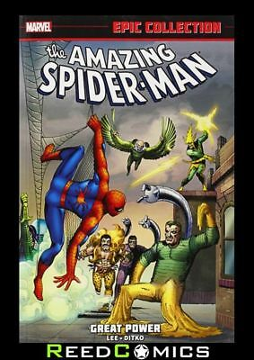 AMAZING SPIDER-MAN EPIC COLLECTION GREAT POWER GRAPHIC NOVEL New Paperback #1-17