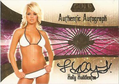 "Benchwarmer 2007 Gold Edition -  #10 of 30 ""Holly Huddleston"" Autograph Card"