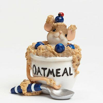 Charming Tails You Have Me Feeling All Warm Oatmeal Figurine 2.75-Inch FREE SHIP
